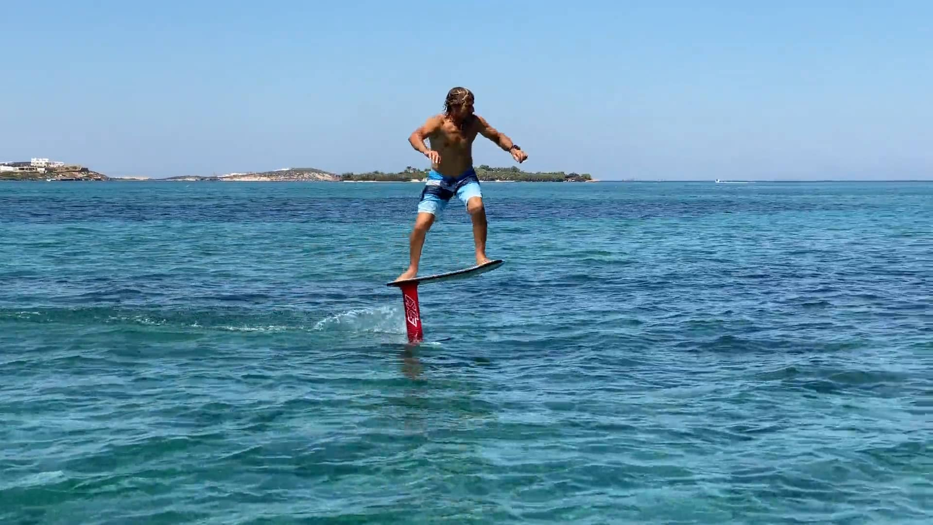 Foil Pumping in Greece - with Epic Kites Kiteboarding