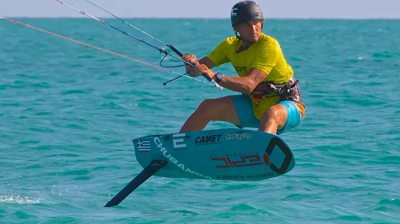 Gas out - with Epic Kites Kiteboarding