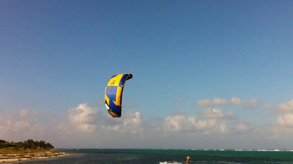 Getting a ride back. - with Epic Kites Kiteboarding