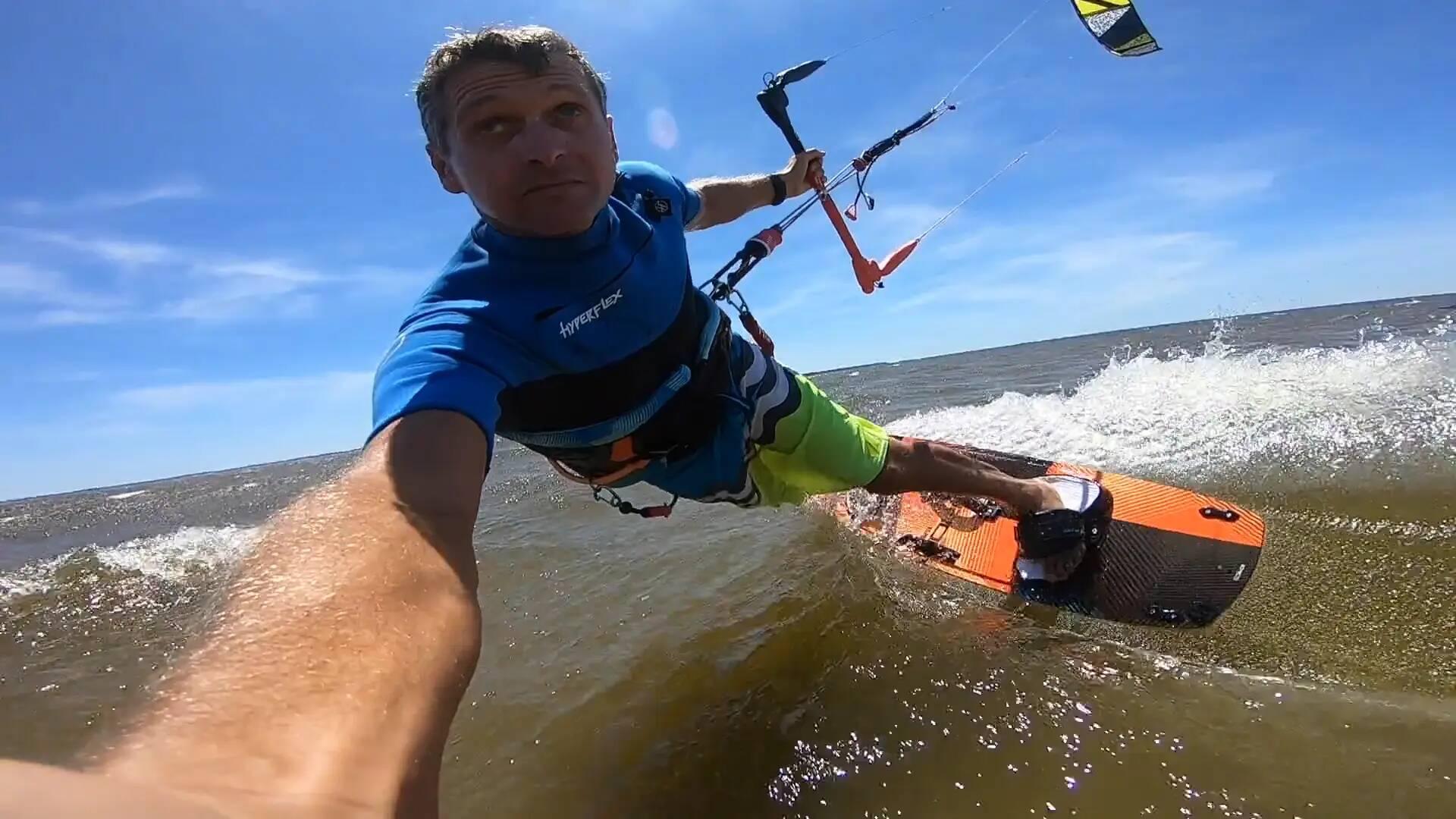 How to land blind - with Epic Kites Kiteboarding
