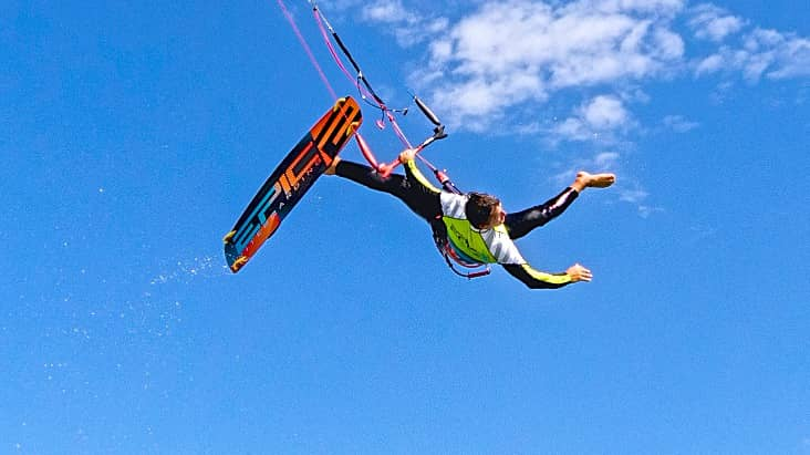 How to land from a crash - with Epic Kites Kiteboarding