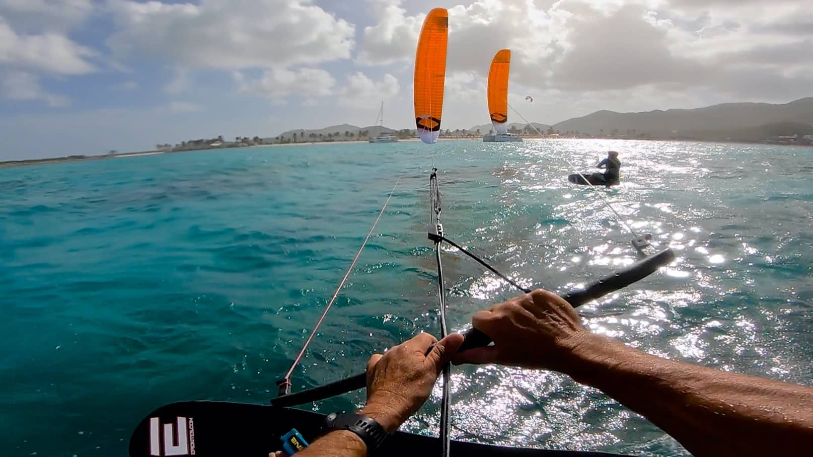 This is how the Pros do it - with Epic Kites Kiteboarding