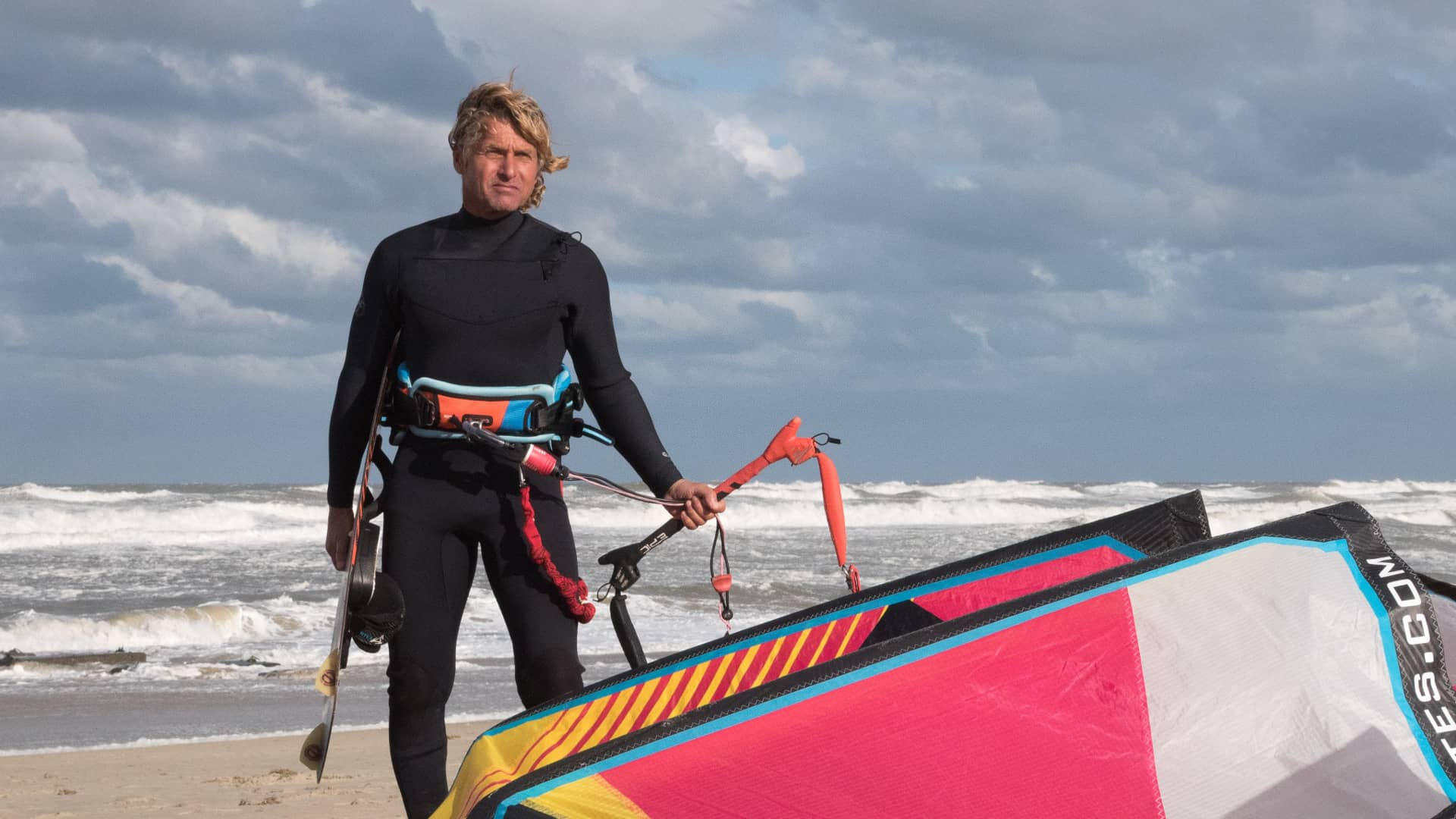 How to roll your lines for your next kite session - with Epic Kites Kiteboarding