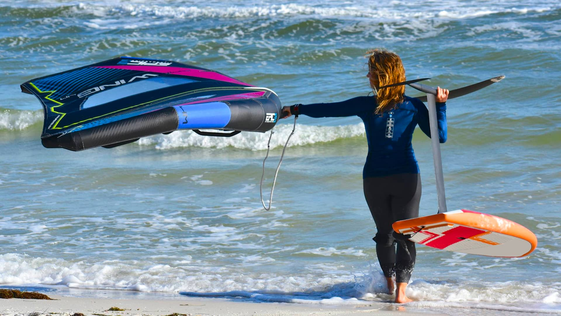 How to set up your Leash for your EPICWING - with Epic Kites Kiteboarding