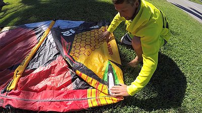 How to pack your kite properly