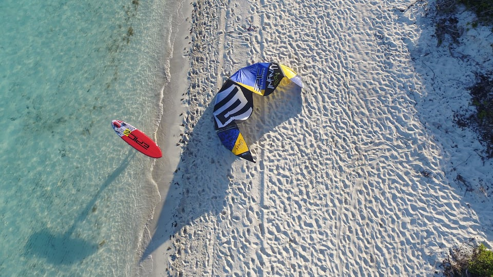 Infinitly light with sup - with Epic Kites Kiteboarding