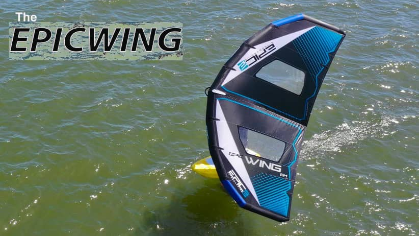 Intro of the EPICWING - with Epic Kites Kiteboarding
