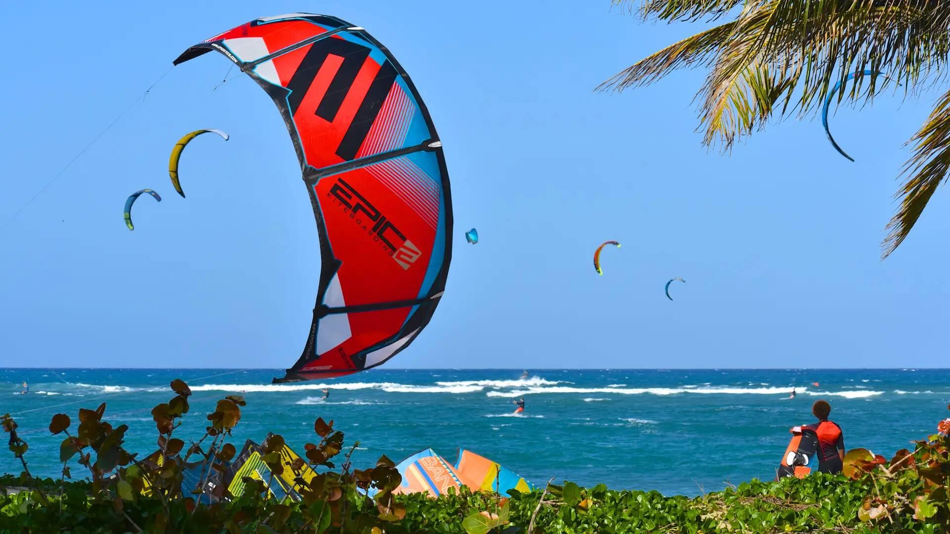 "Kiteboarder getting slammed…""DBC"". - with Epic Kites Kiteboarding"