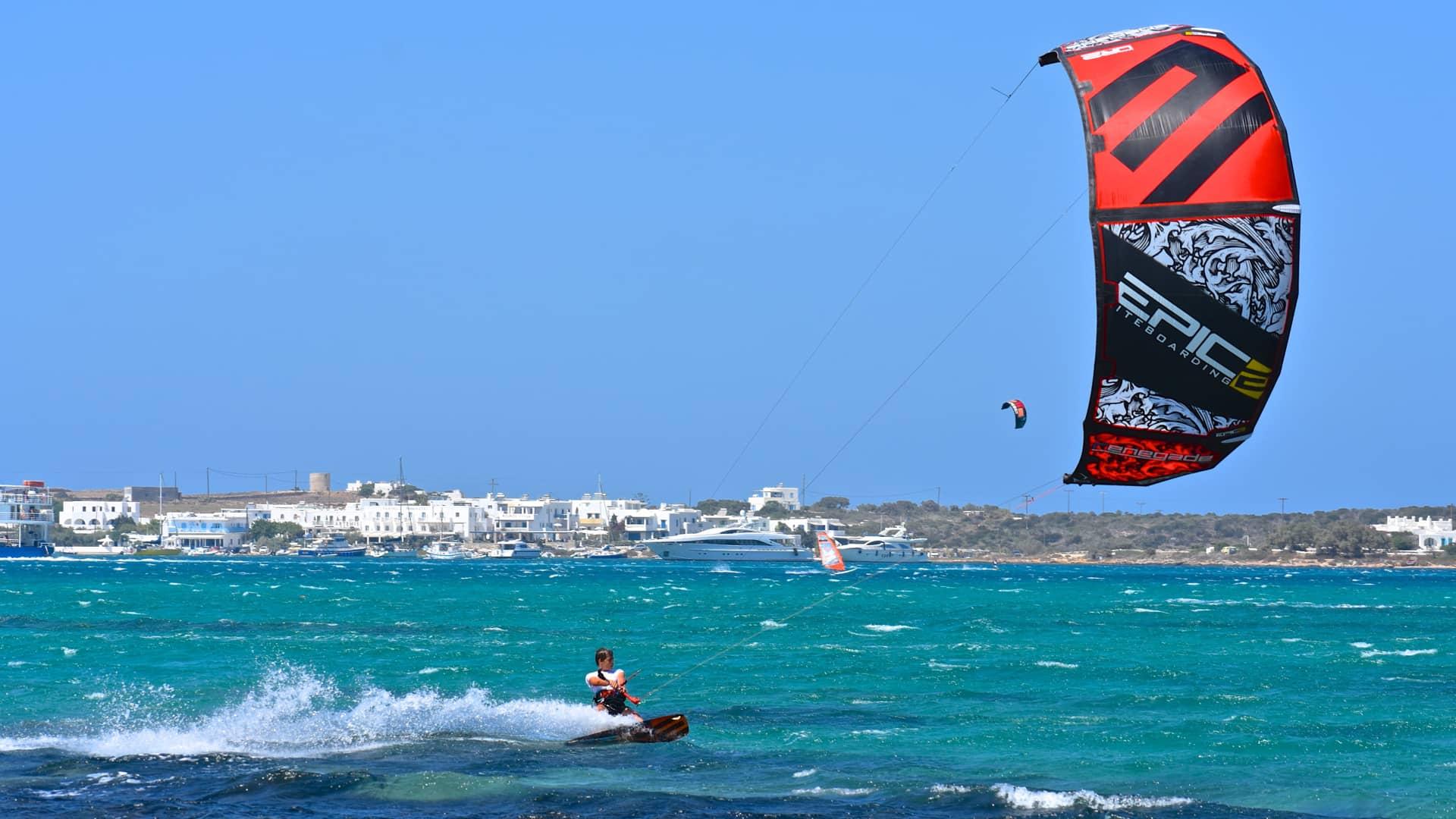 Kiteboarding Project X - with Epic Kites Kiteboarding