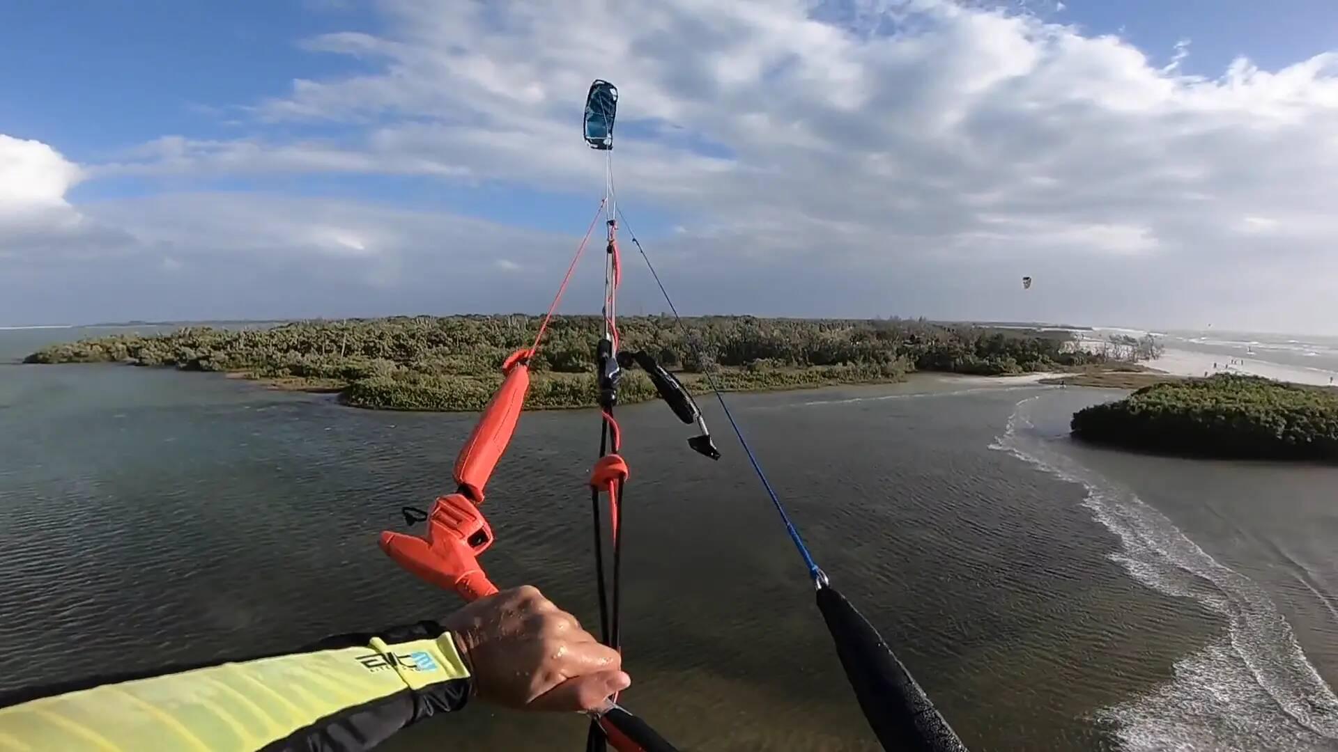 Kiter Knee - with Epic Kites Kiteboarding