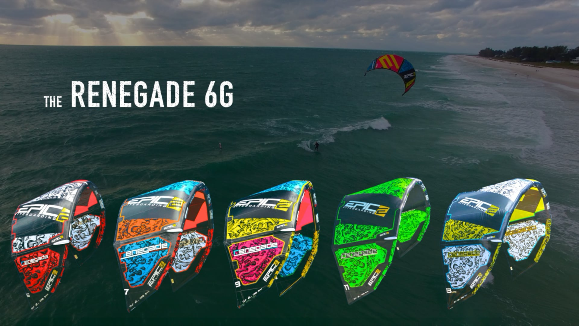 Kiters loving the new RENEGADE 6G - with Epic Kites Kiteboarding