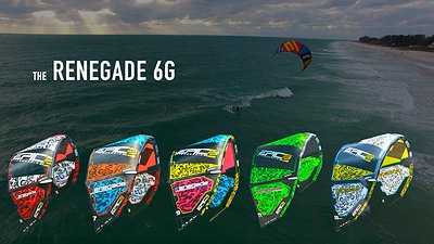 Kiters loving the new RENEGADE 6G