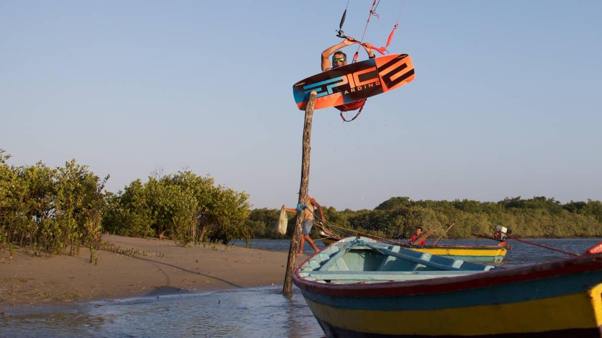 Kitesurfer in disguise - with Epic Kites Kiteboarding