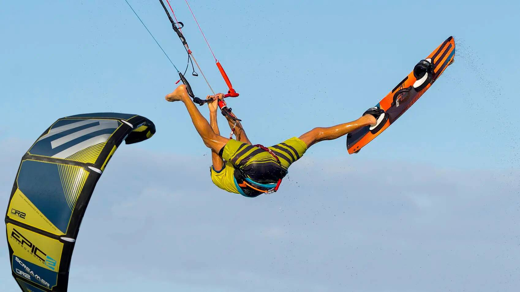 Kitesurfing Work Out - with Epic Kites Kiteboarding