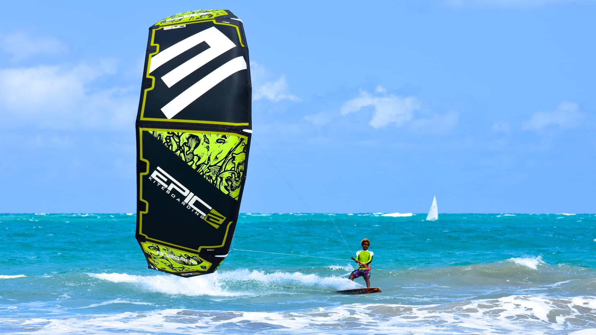 KITING IN CABARETE - with Epic Kites Kiteboarding