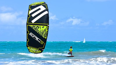 KITING IN CABARETE