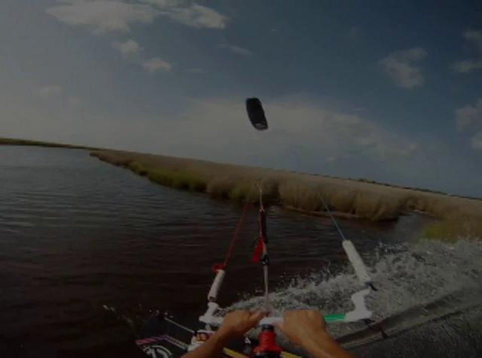 "Little ripper ""cameron maramenides"" - with Epic Kites Kiteboarding"