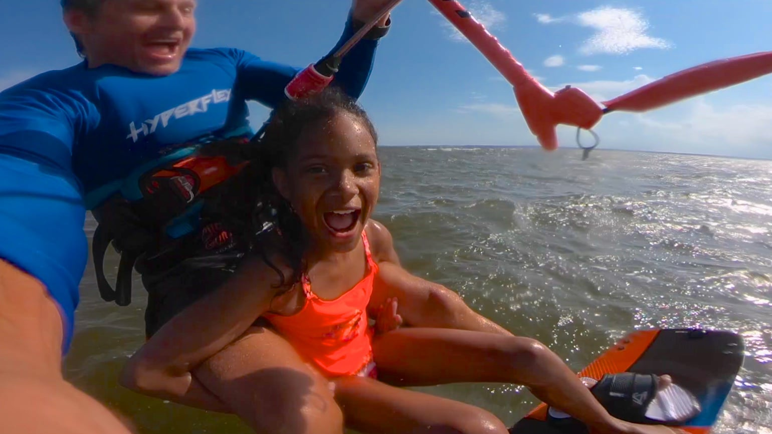 LUCKY KIDS - with Epic Kites Kiteboarding