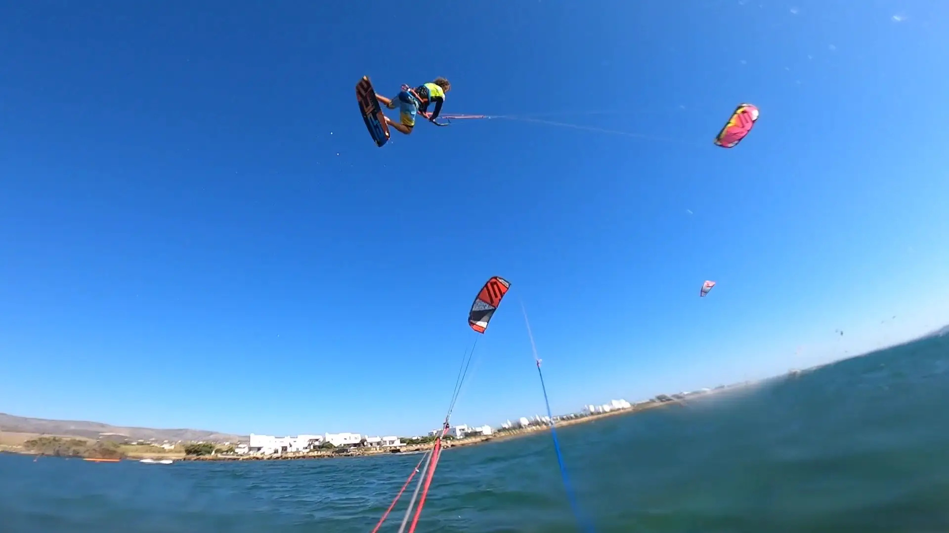 Made it to Greece - with Epic Kites Kiteboarding