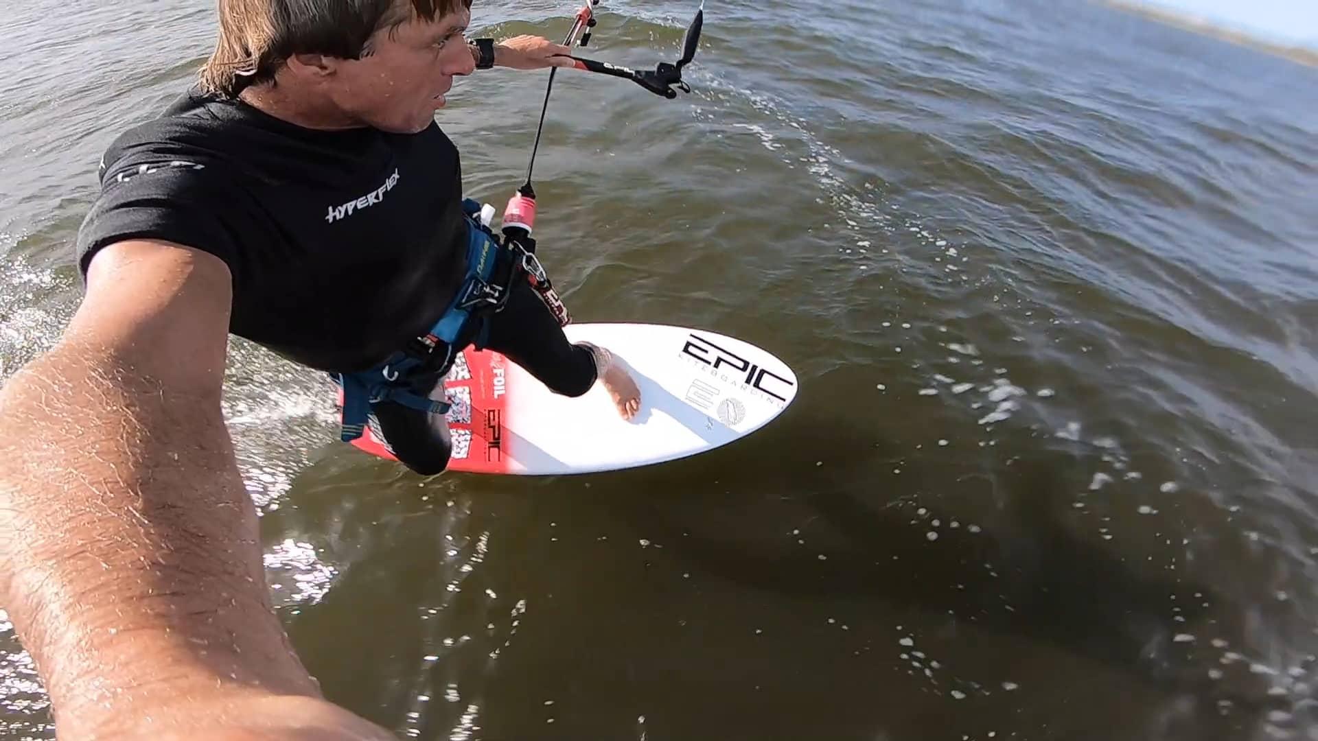 No brain No pain - with Epic Kites Kiteboarding