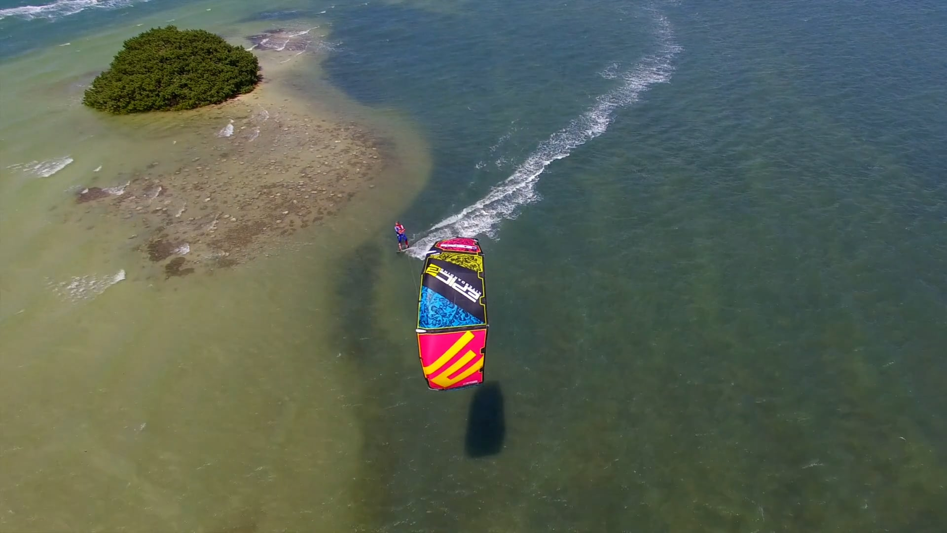 Non stop Kitesurfing - with Epic Kites Kiteboarding