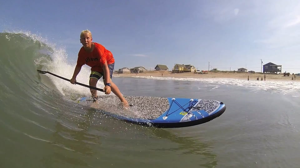 Obx epic summer suping - with Epic Kites Kiteboarding