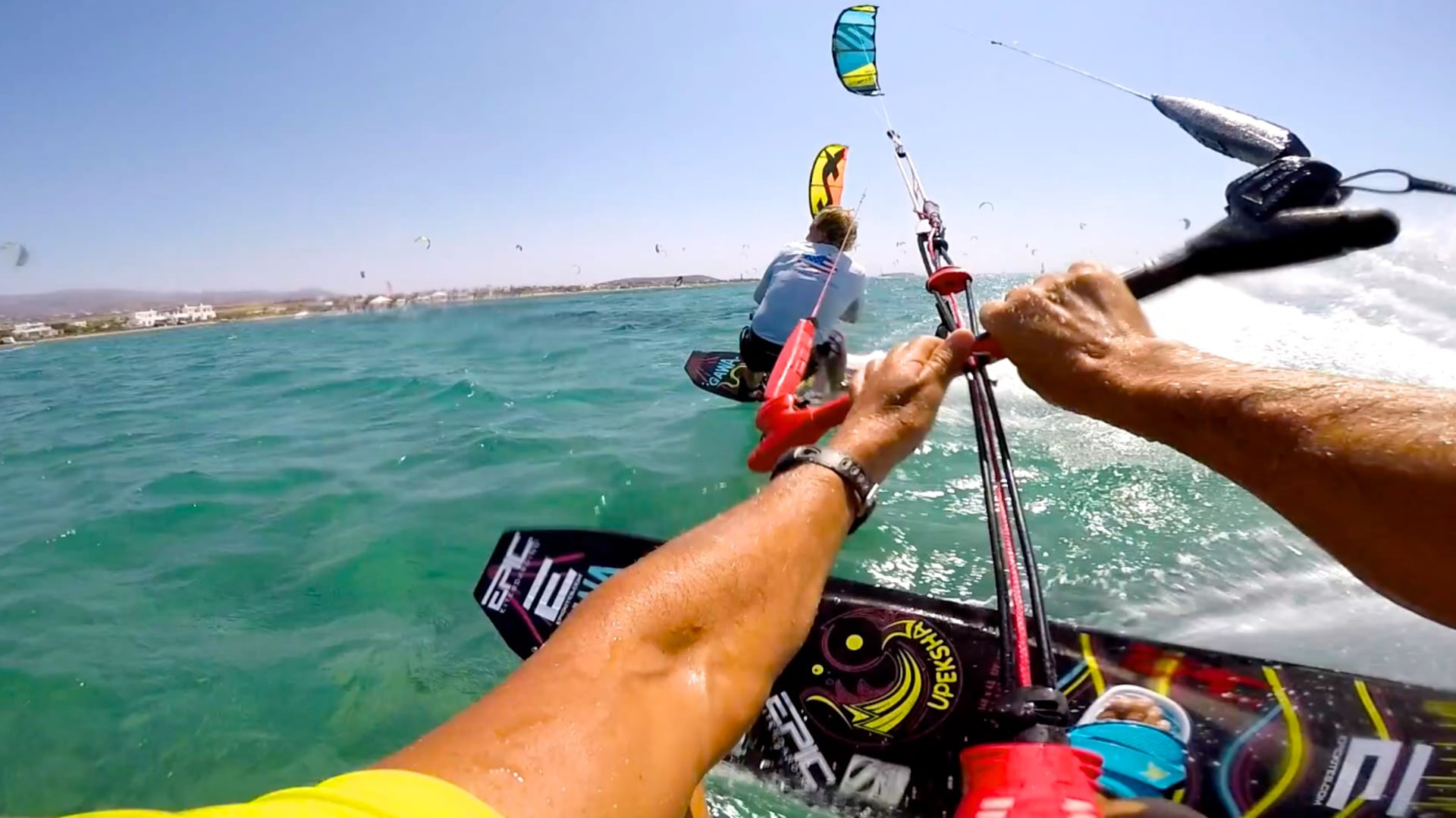 OLYMPIC BOOT CAMP kiteboarding training - with Epic Kites Kiteboarding