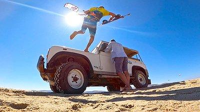 Don't be a MALAKA go kiteboarding video