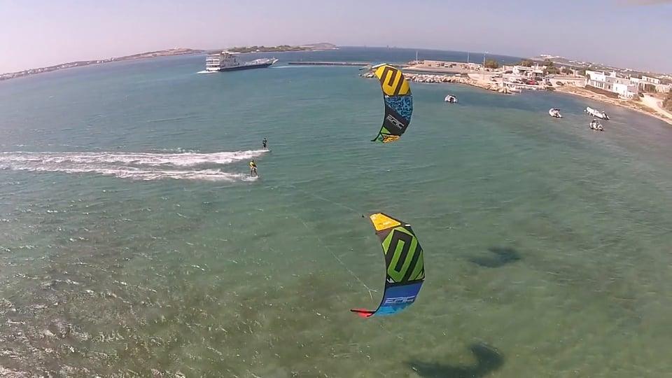 Paros with tom butler - with Epic Kites Kiteboarding