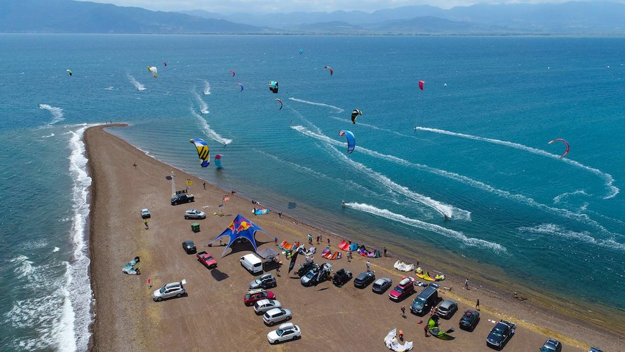 Raches faros kite club GREECE - with Epic Kites Kiteboarding