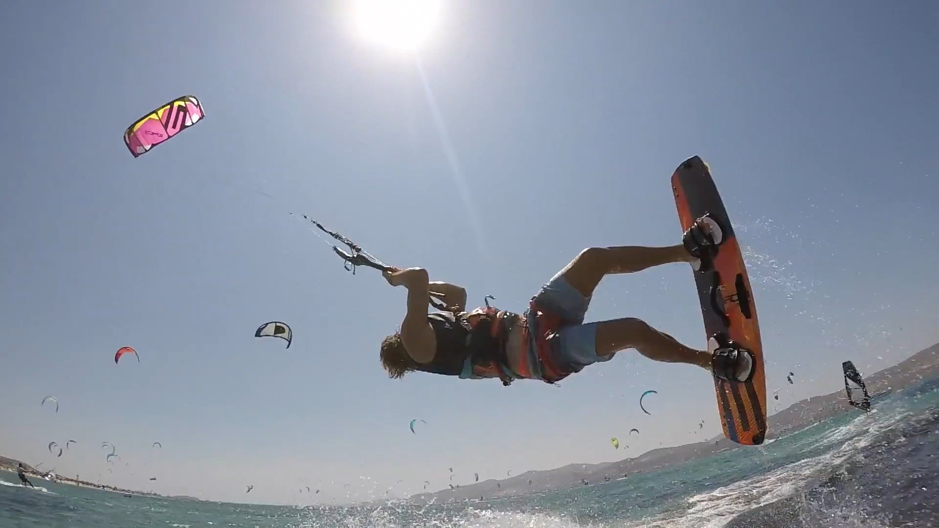RED EYE Kitesurfing - with Epic Kites Kiteboarding