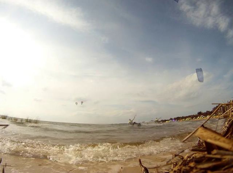 """Renegade """"infinity v2"""" so much fun - with Epic Kites Kiteboarding"""