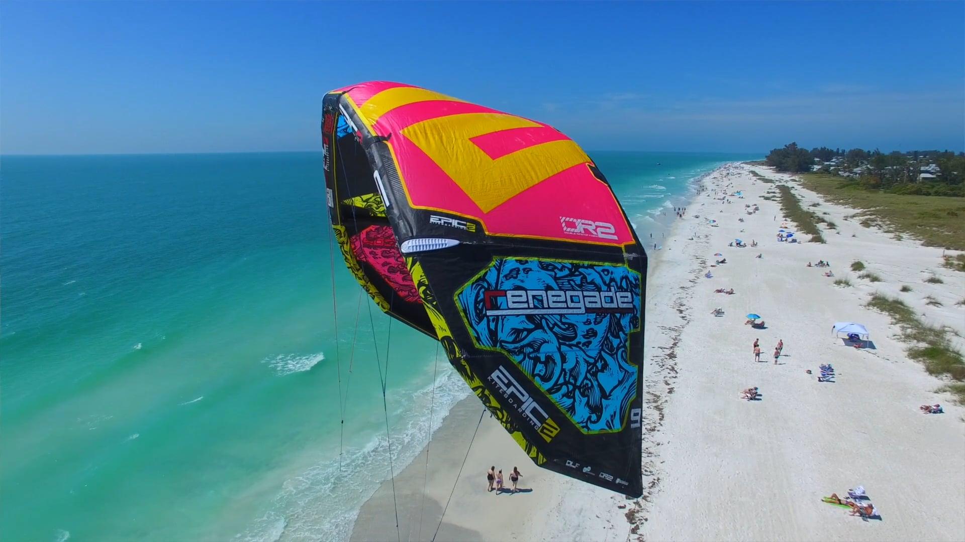 RENEGADE kites 6G - with Epic Kites Kiteboarding