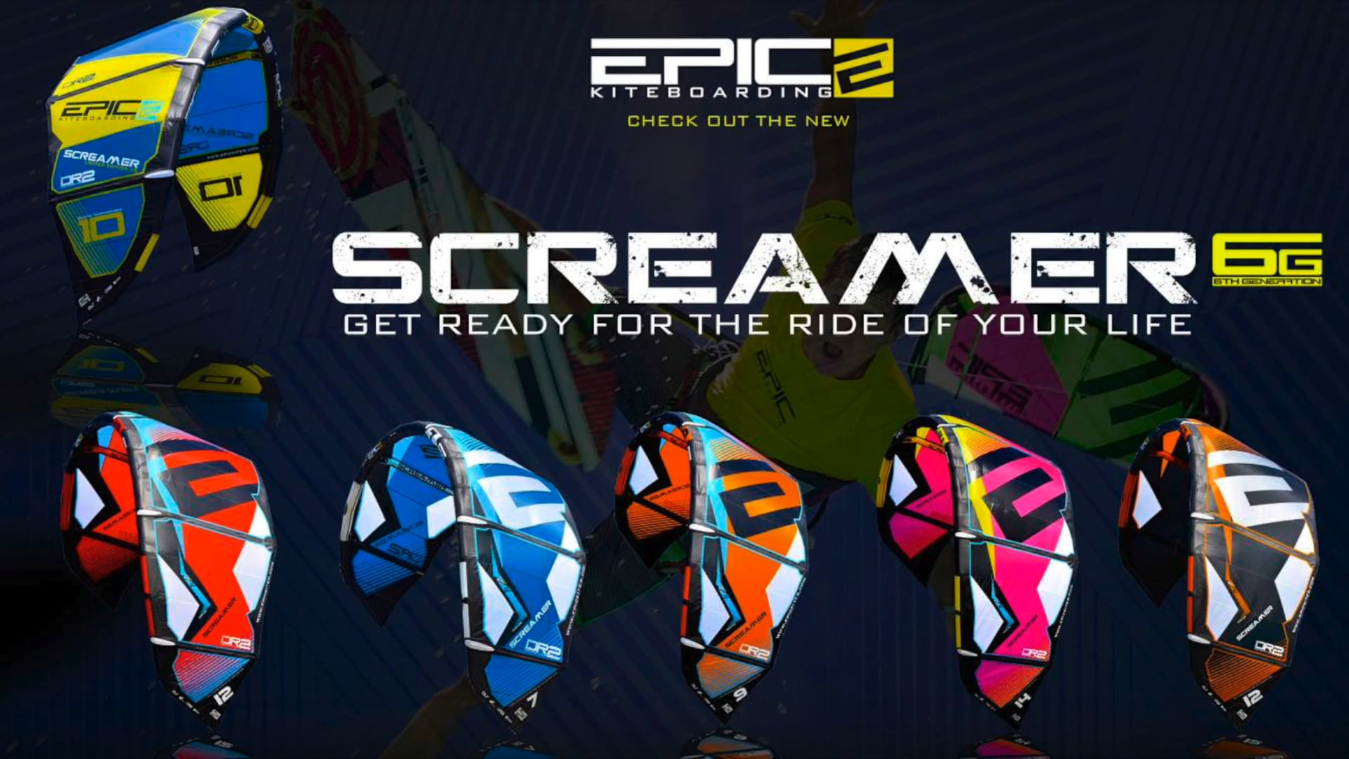 SCREAMER 6G testimonial from kiters all over the world - with Epic Kites Kiteboarding