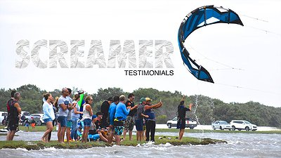 SCREAMER 6G kites video