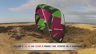 ELITE Hydrofoil kiteboarding competition video