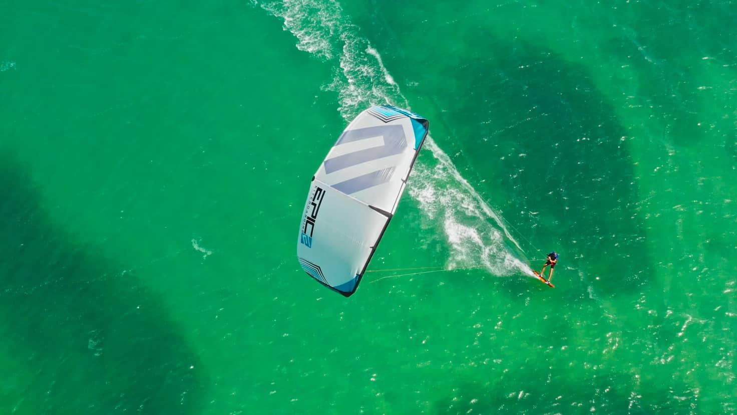 Sterilizing a kiter - with Epic Kites Kiteboarding