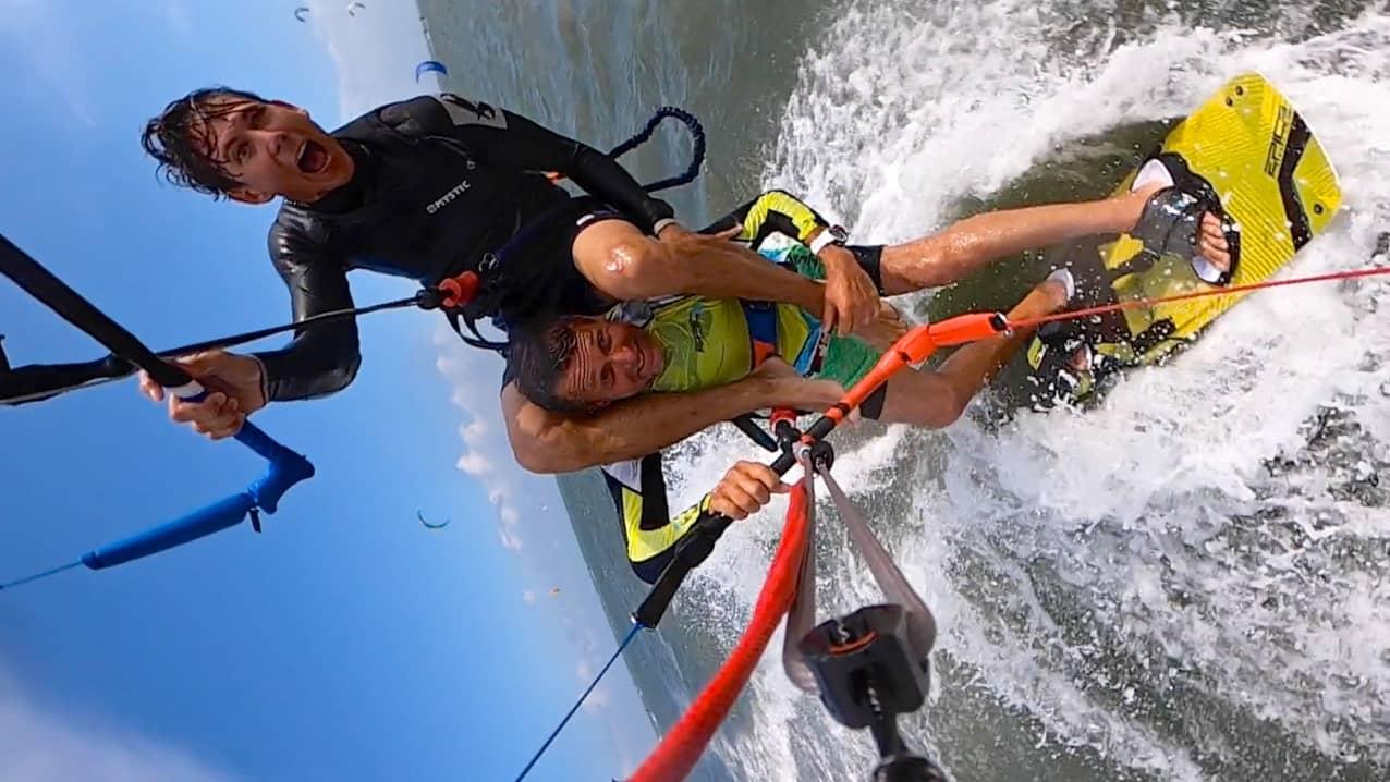 Stupid and Stupido - with Epic Kites Kiteboarding