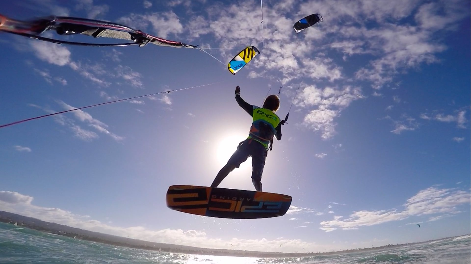 TANGLE KITES do not panic… - with Epic Kites Kiteboarding