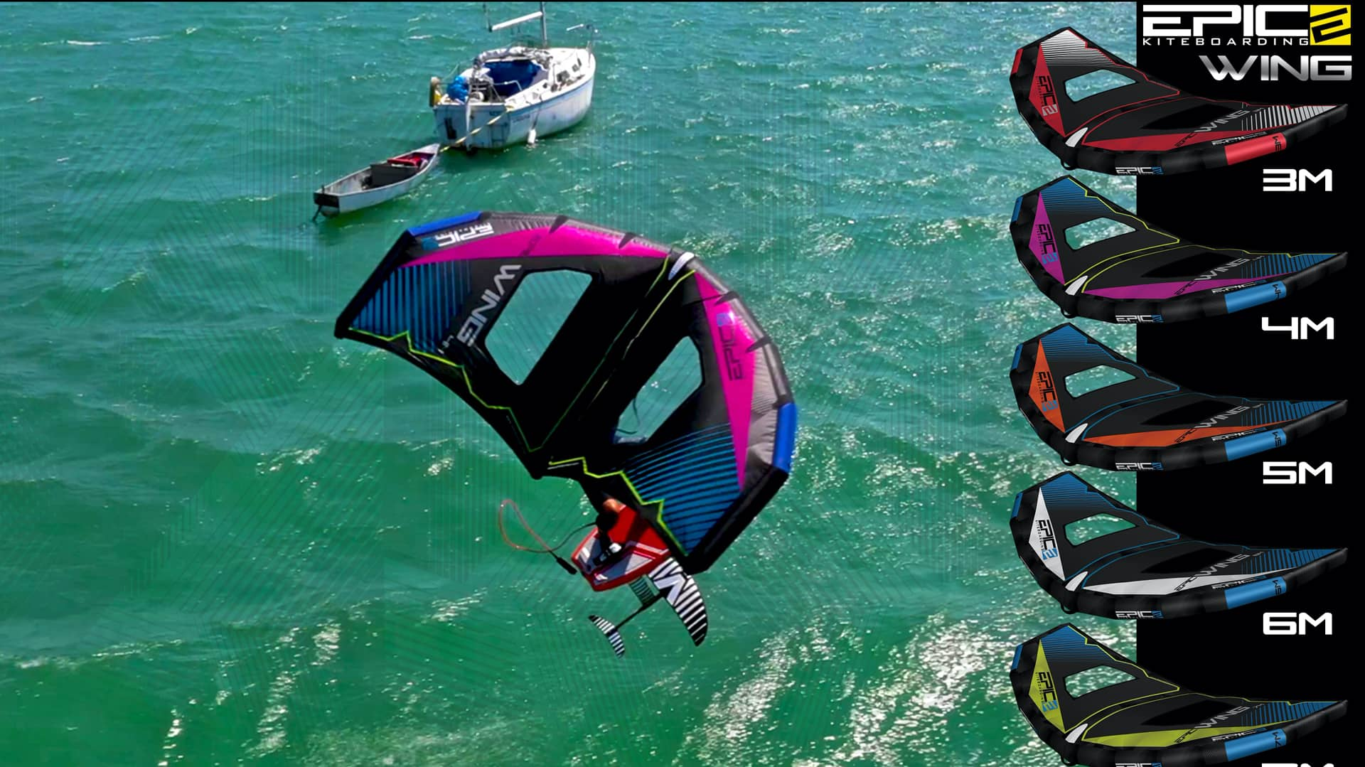 Testimonials from the rider 3 - with Epic Kites Kiteboarding