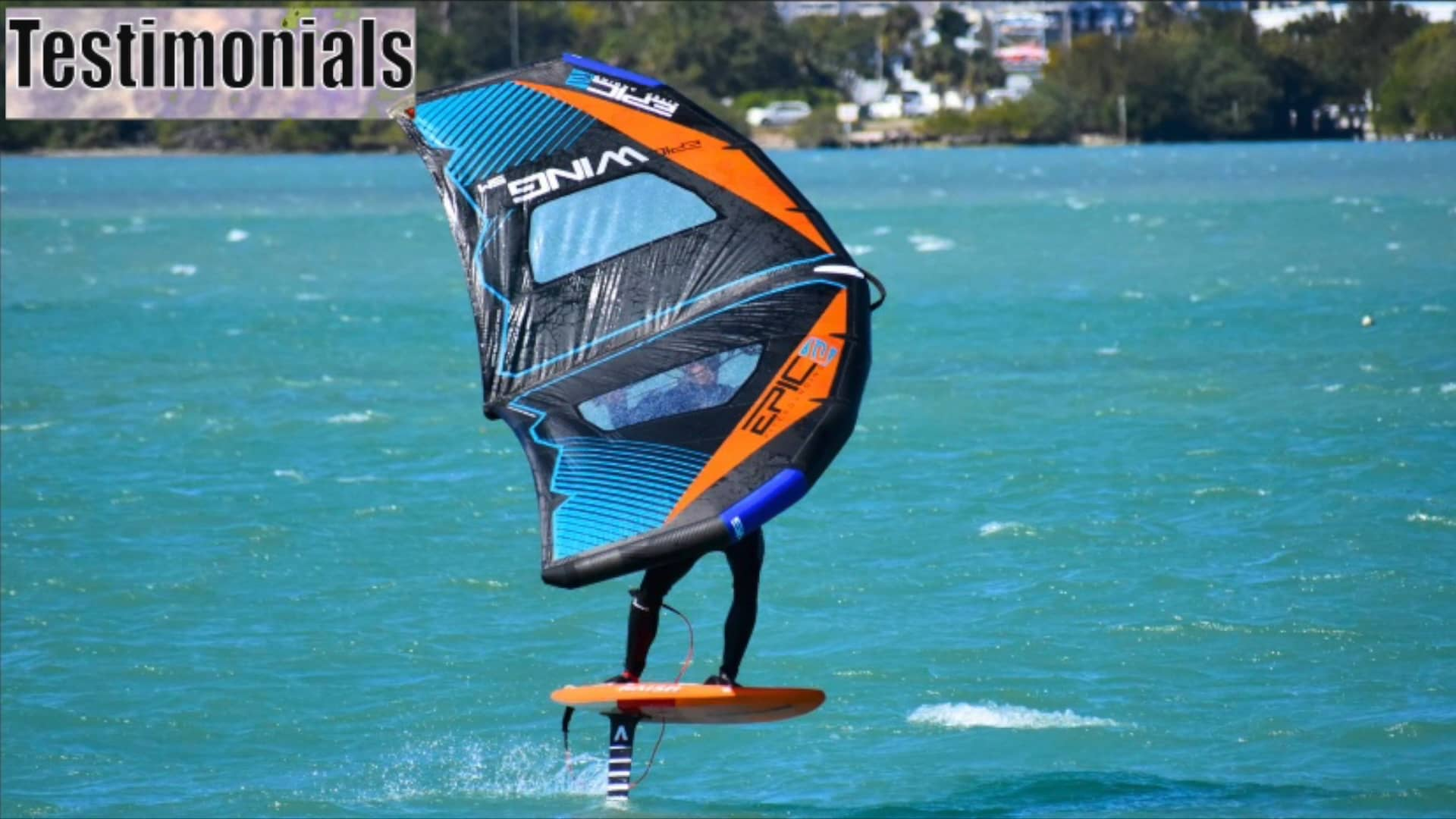 Testimonials from the riders 1 - with Epic Kites Kiteboarding