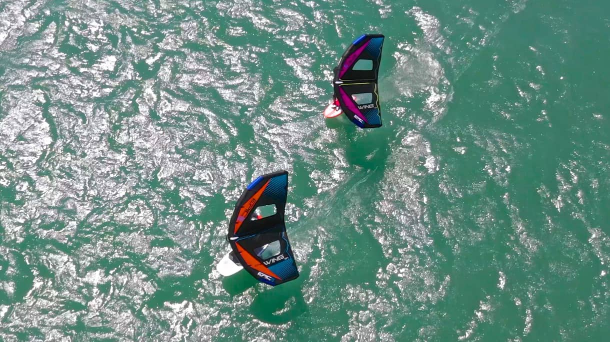 Testimonials from the riders 2 - with Epic Kites Kiteboarding