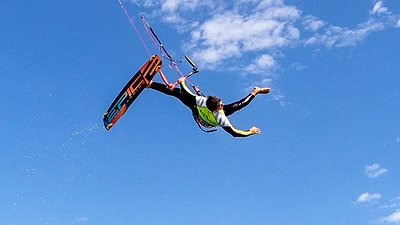 This is the feeling I get when it's time to go kiteboarding