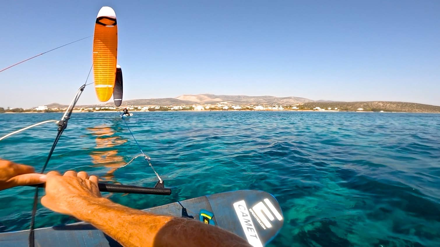 Time for KiteFoil Racing - with Epic Kites Kiteboarding