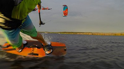 Dumb & Dumber kiting in Argentina video