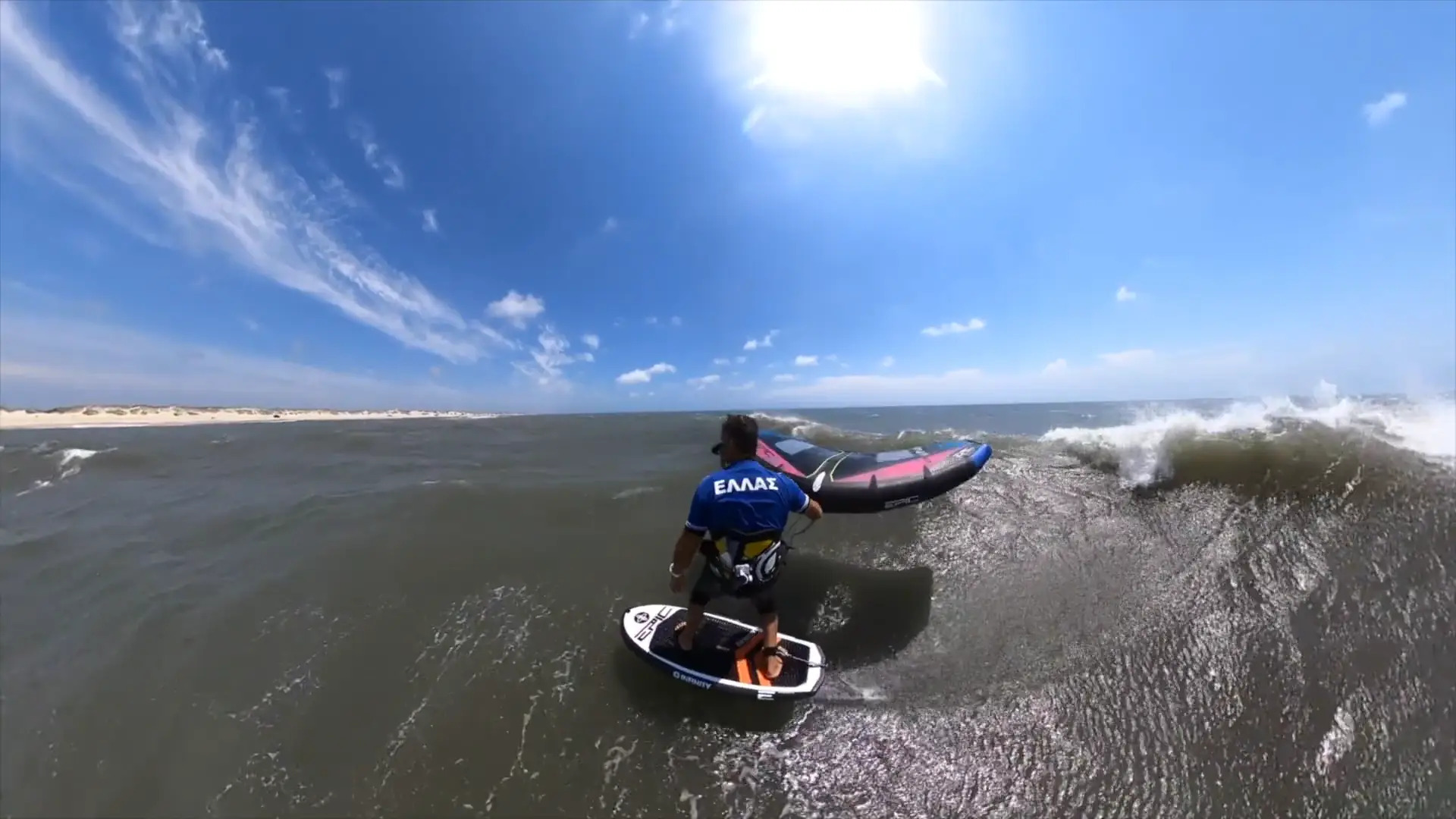 WINGING with Mr. Tabeling - with Epic Kites Kiteboarding