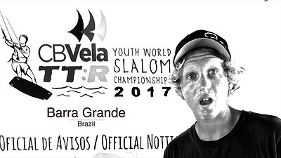 BRAZIL Twin Tip YOUTH WORLD CUP race 2017 video