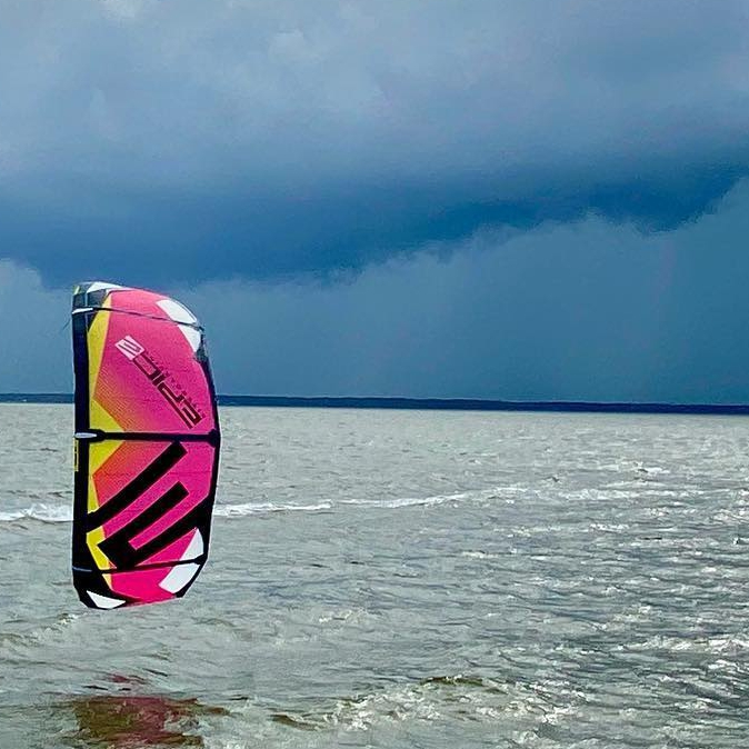 Having an epic session on the SCREAMER 12 at home in Cape Hatteras NC. #epickites #epickiteboarding #capehatteras