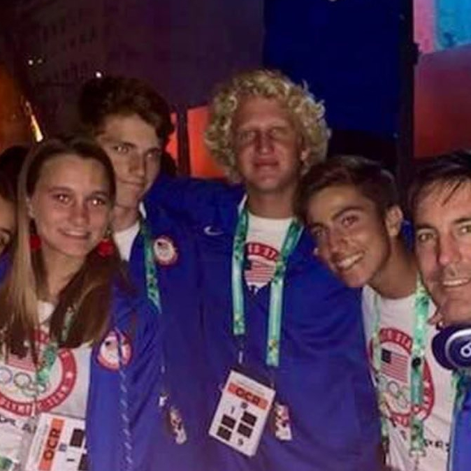 Cameron Maramenides with USA team during the Yourh Olympic Games. @cameron_maraoffic #epickites #epickiteboarding #olympicgames #youtholympicgames2018